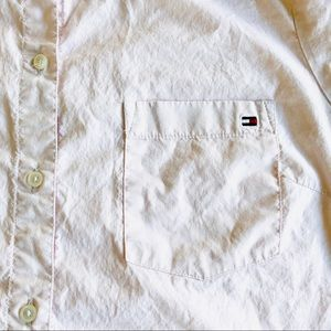Tommy Hilfiger Tops - Tommy Hilfiger women's pink button down shirt